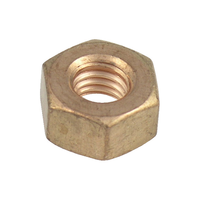 Replacement Hex Nuts for Bolted Clamps - Bronze (fits 1