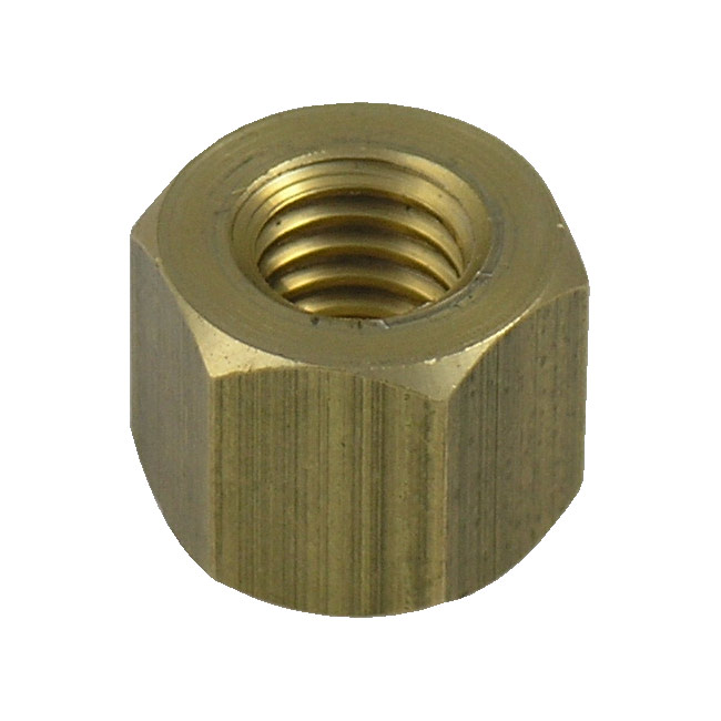 Replacement Hex Nuts for Bolted Clamps - Brass (fits 1/2