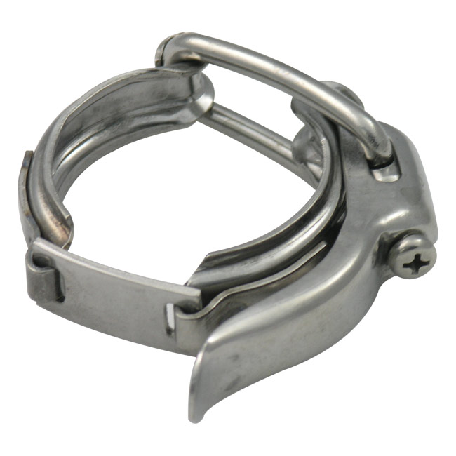Sanitary tri clamps quick release toggle