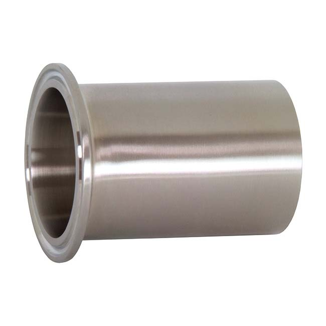 Tri Clamp Ferrules - Clamp Tank Welding Ferrules (Light Duty