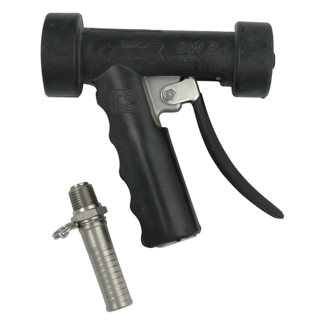 Dixon Sanitary Washdown Spray Nozzles - Stainless Steel (Industrial Grade)