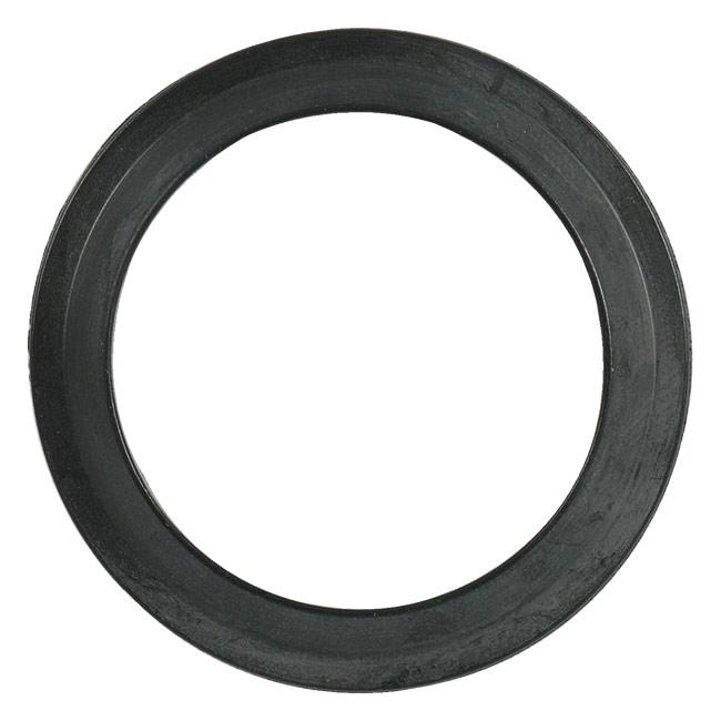 Flat Style Buna Bevel Seat Gasket Sanitary Seals, Black - 40BSF