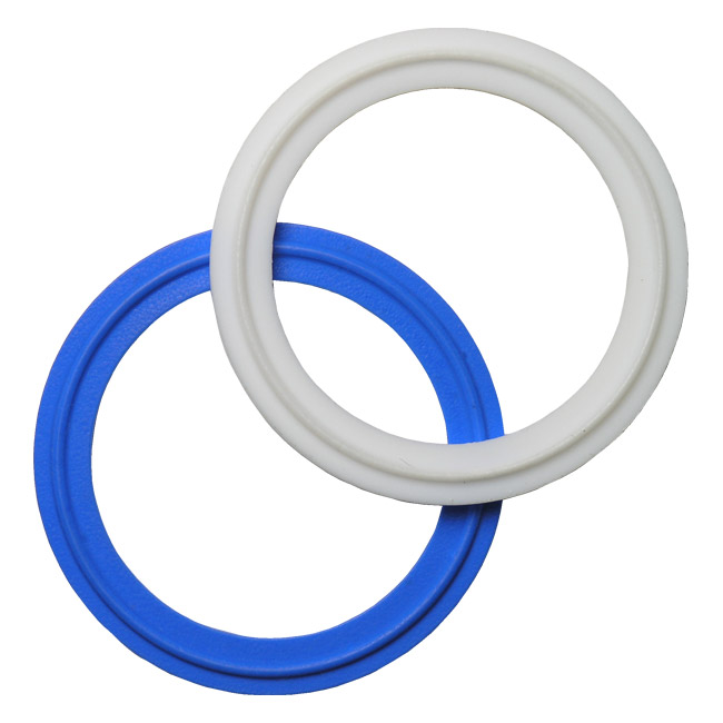 Unflanged Sanitary Tri-Clamp® Gaskets - PTFE