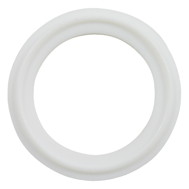 Ptfe tri clamp gasket sanitary seals white or blue type