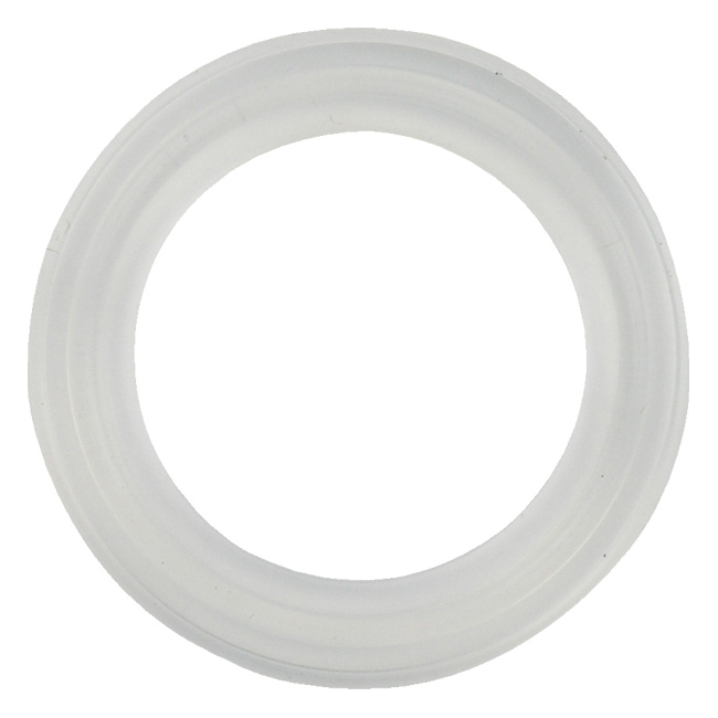 Platinum cured silicone tri clamp gasket sanitary seals