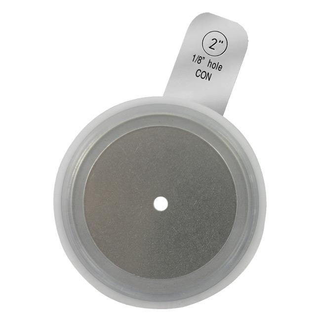 Silicone tri clamp tabbed orifice plate gasket l