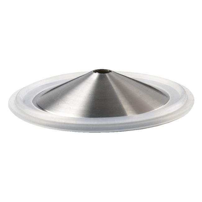 Silicone tri clamp vertical orifice plate gasket l