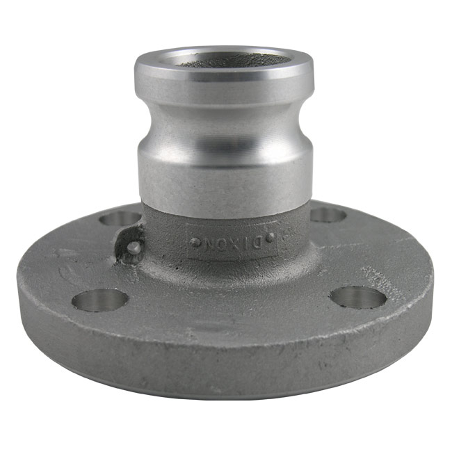 Dixon Sanitary Cam and Groove Fittings - Adapter x 150# Flange