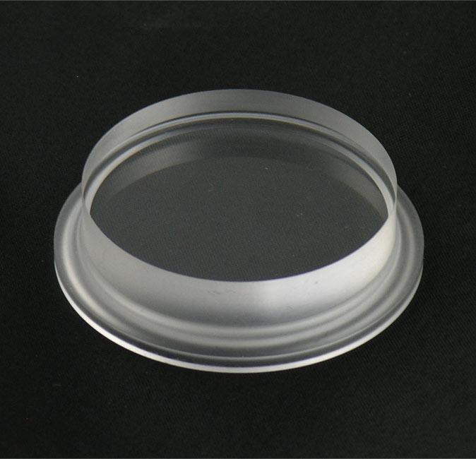 Dixon sanitary b mp acrylic sight glass end caps
