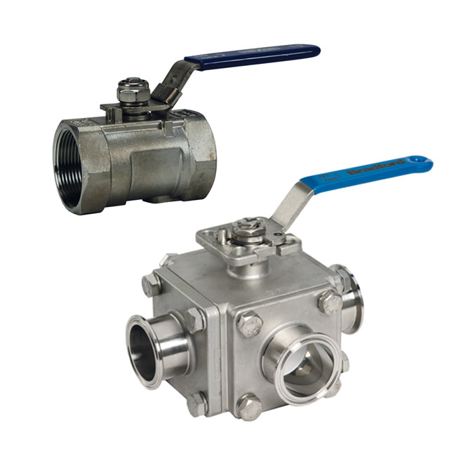 Dixon Sanitary Ball Valves