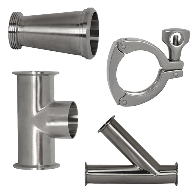 Dixon Sanitary Clamp Fittings