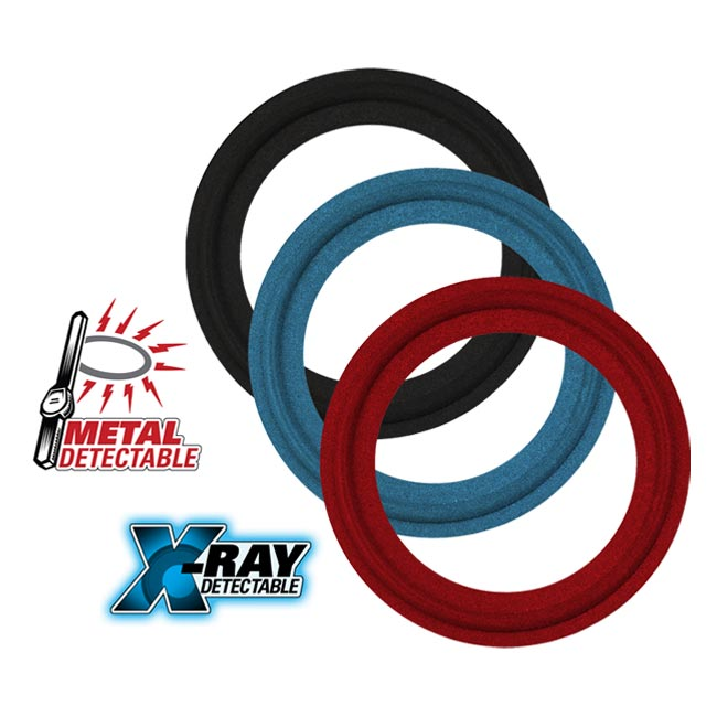 Rubber Fab Metal Detectable Gaskets & O-Rings