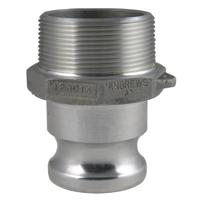 Dixon sanitary cam and groove reducing type f adapter
