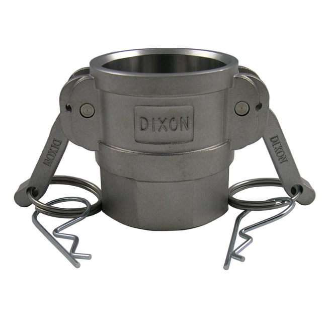 Dixon Sanitary Cam and Groove Fittings - Coupler x Female NPT (Type D)