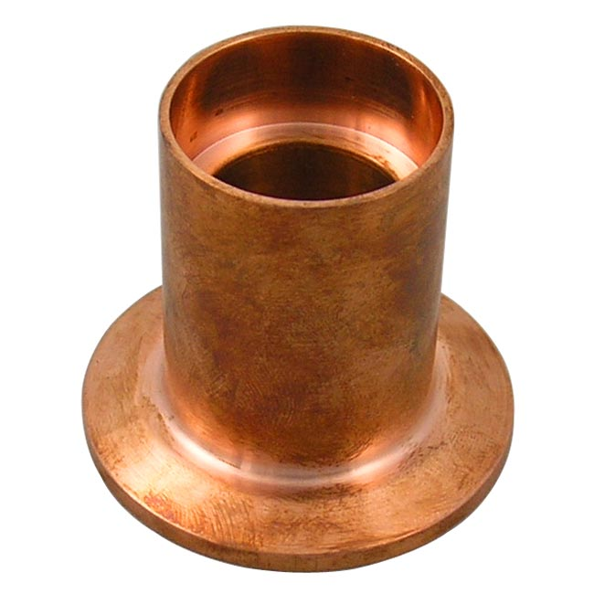 Copper ferrule sanitary clamp socket weld