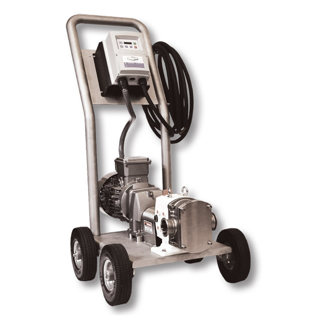 Dixon Sanitary Pump Cart