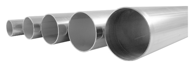 """304 Stainless Steel Round Tube Brushed 3//4/"""" ODx.065/"""" W by the foot up to 12 feet"""