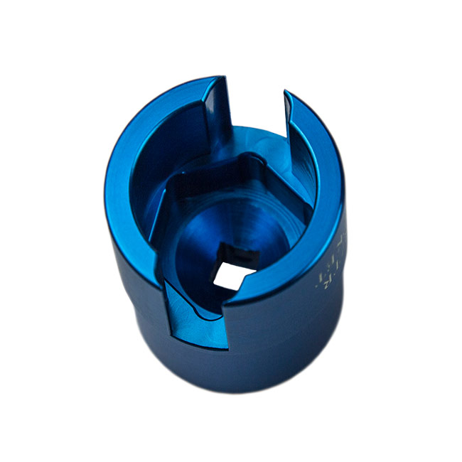 Rubber fab torque tee universal wing nut socket for