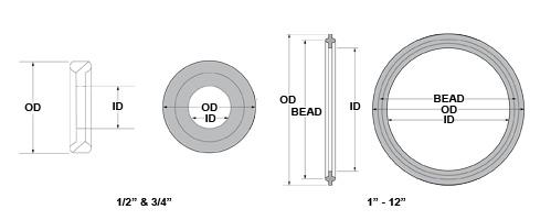 Fkm 90 O Ring Fep Encapsulated O Rings Eastern Seals Uk