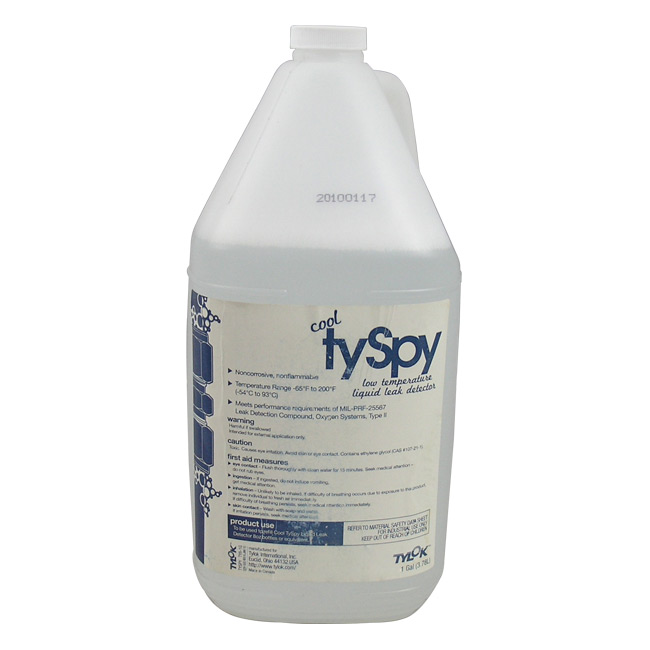 Tylok Cool Tyspy Leak Detector - 1 Gallon Bottle